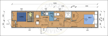 Accommodation-Container-The-Long-Beach-Pre-Designed-Container-Home