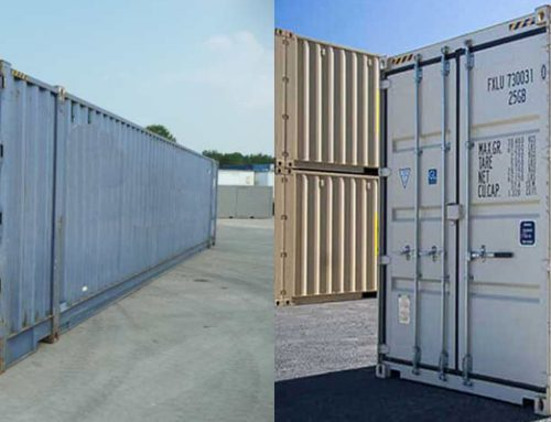 How a shipping container is made…