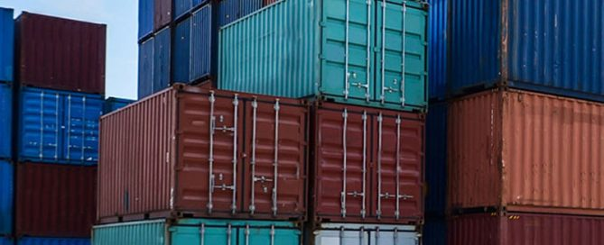 What are shipping containers made of?