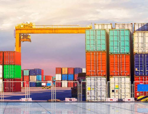 How shipping containers stack on top of each other